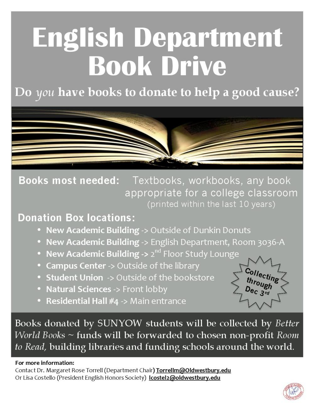 Book Drive Flyer 2014-page-001