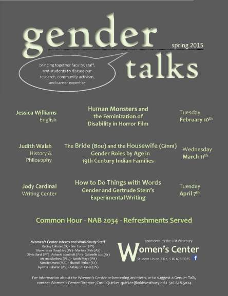 Gender Talks s15 Series Flyer color