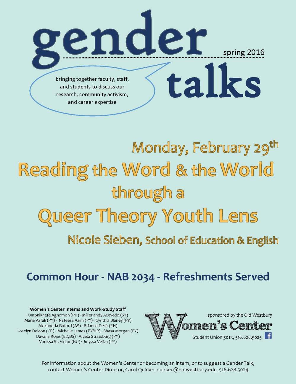 Gender Talks s16 Speaker - Nicole color
