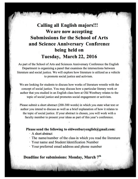 Anniversary conference cfp